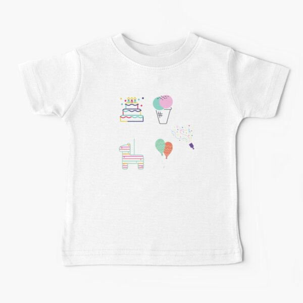 Birthday party celebration gifts for kids Baby T-Shirt