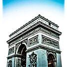 Arc De Triomphe-  Paris  by David  Perea