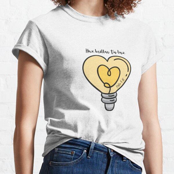Mateo 5:16 Haz Brillar Tu Luz Camiseta clásica