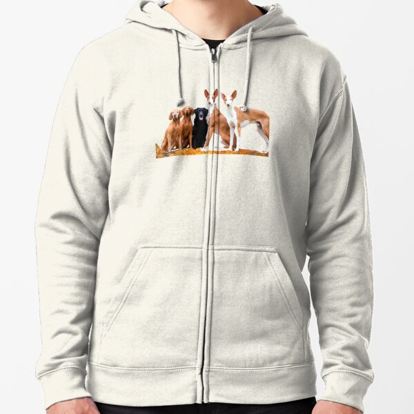 ANDERSON FUR FAMILY Zipped Hoodie