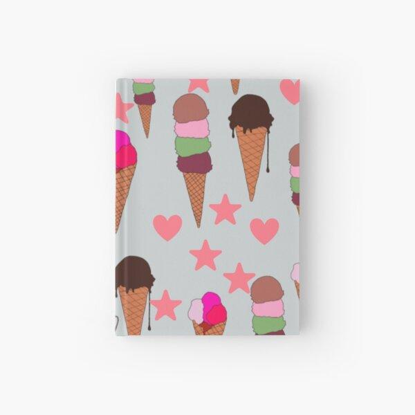 ice cream Hardcover Journal