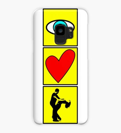 i love dance - pictogram Case/Skin for Samsung Galaxy