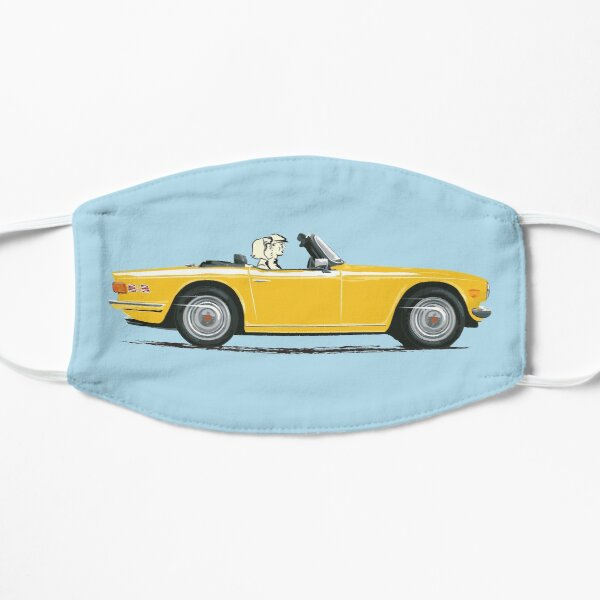 Inca Yellow color TR6 – the Classic British Sports Car Mask