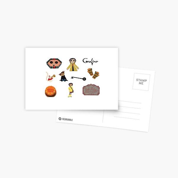 Coraline Collage Postcard By Megamini45 Redbubble
