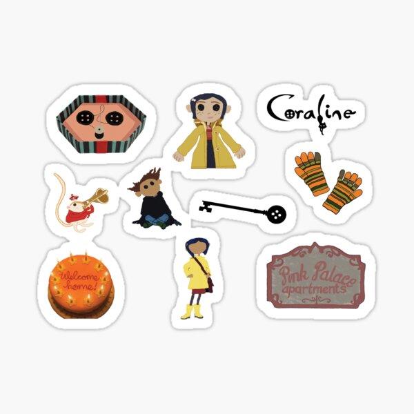 Coraline Halloween Pack Sticker