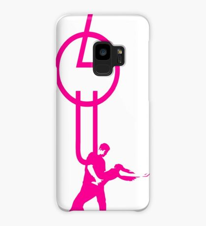 lets dance zouk - pink Case/Skin for Samsung Galaxy