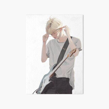 Jae, Breeze  Art Board Print
