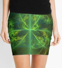 Green Knot Mini Skirt