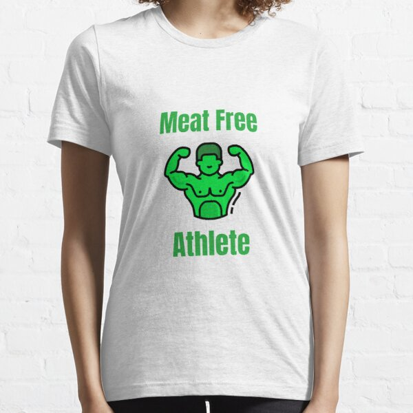 Meat Free Athlete Eco-Design Essential T-Shirt