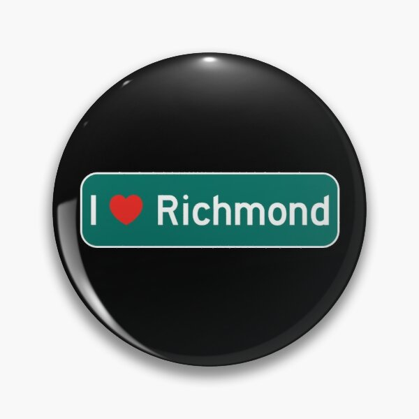 I Love Richmond! Pin