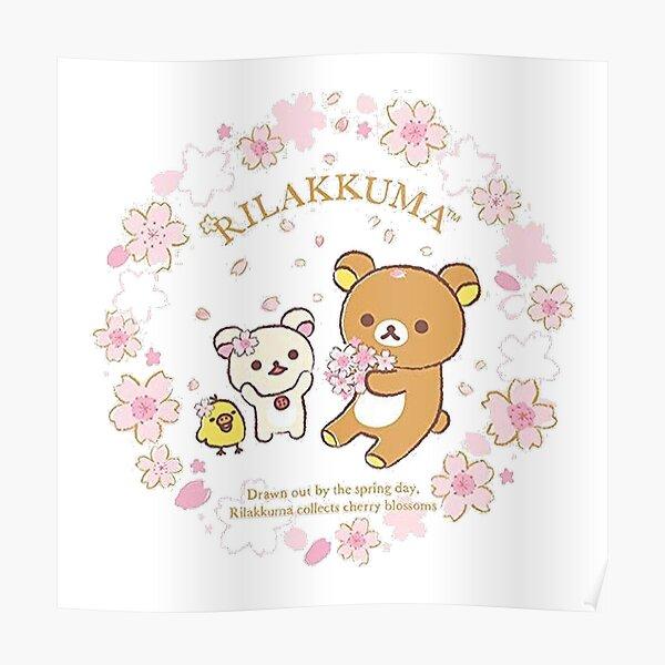Rilakkuma Sakura Poster