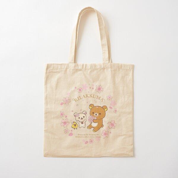 Rilakkuma Sakura Cotton Tote Bag