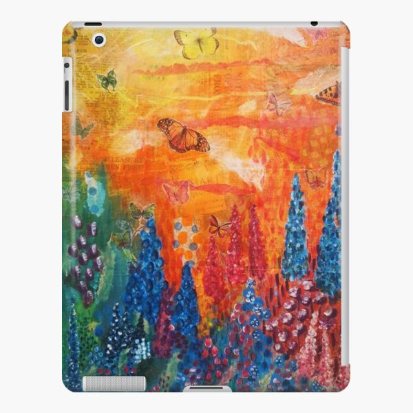 Butterfly garden iPad Snap Case