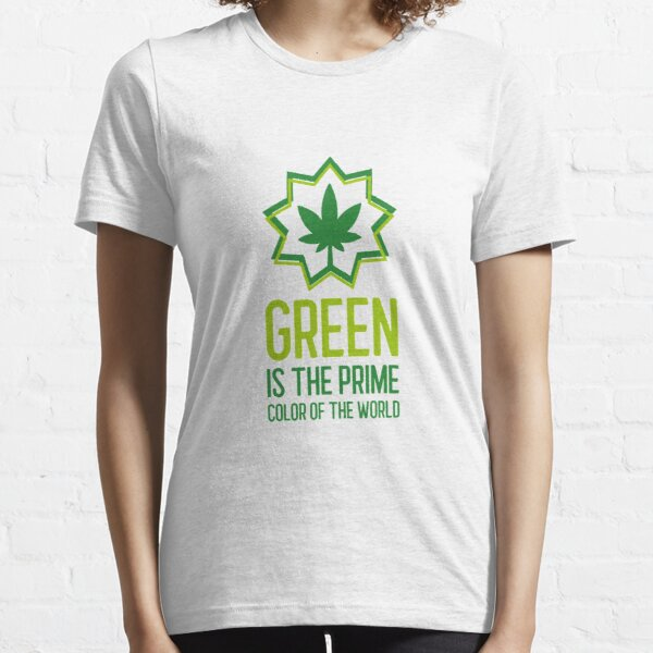 Green Is The Prime Color Eco-Design Essential T-Shirt