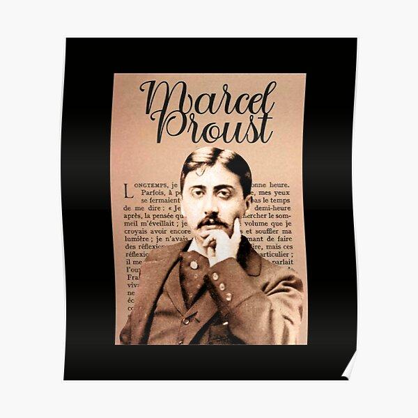 Marcel Proust, writer / novelist Poster