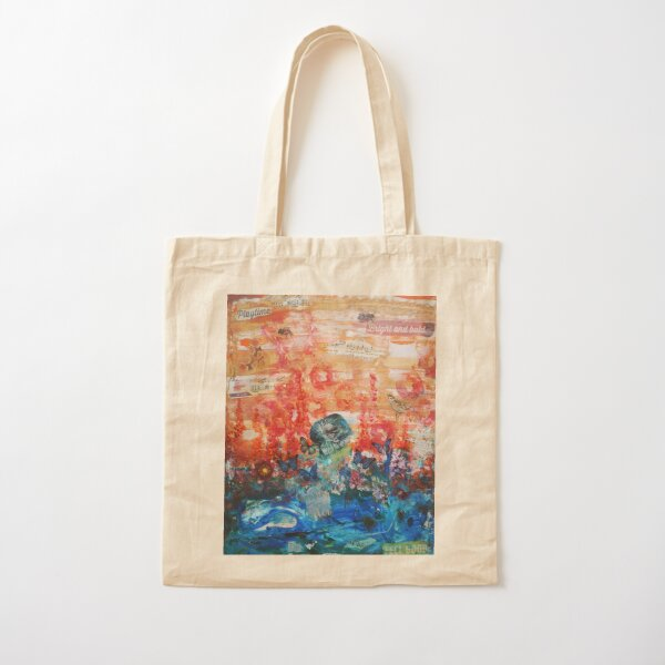 Song of life Cotton Tote Bag