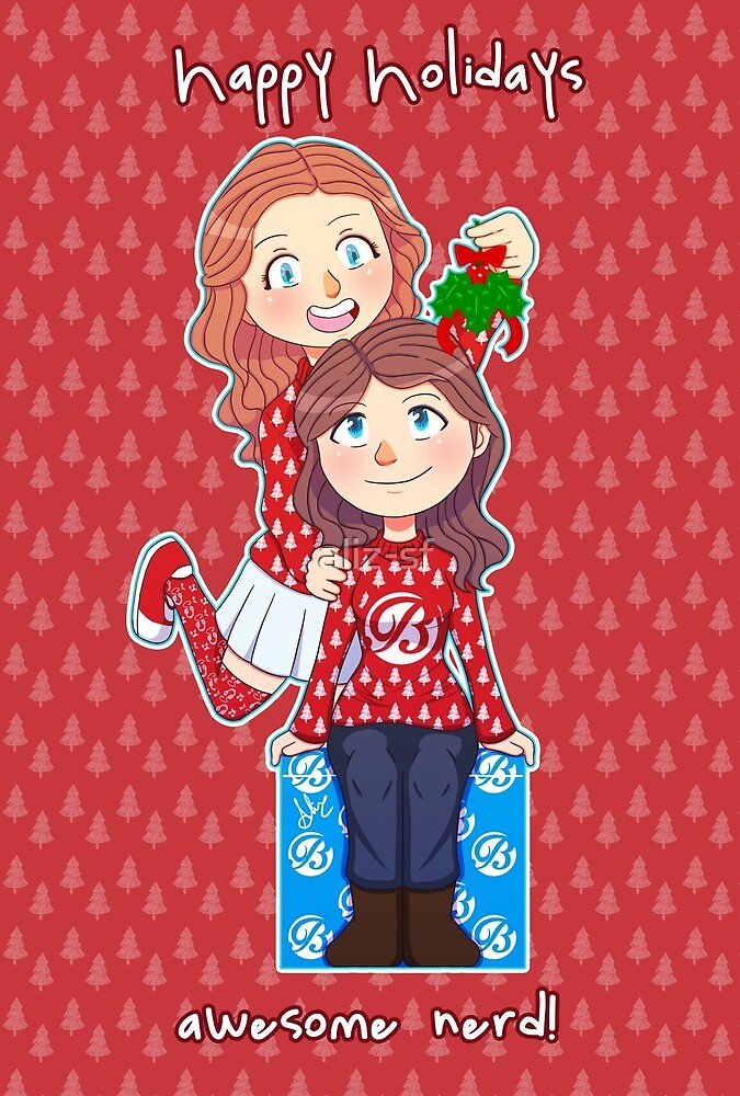 Happy holidays, awesome nerd by aliz-sf