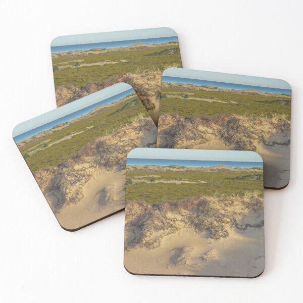 Dune. Island landscape Coasters (Set of 4)