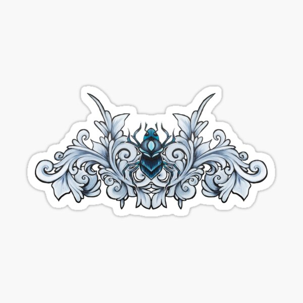 BeetleFiligree Sticker