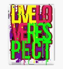 LIVE LOVE RESPECT iPad Case/Skin