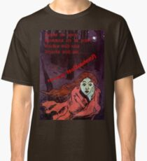 Happy Halloween The Tombs are Open Greeting   Classic T-Shirt
