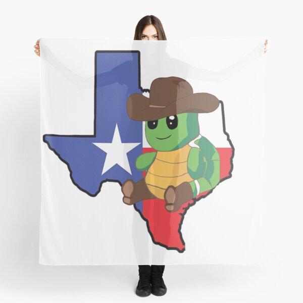 Texas Turtle  Scarf