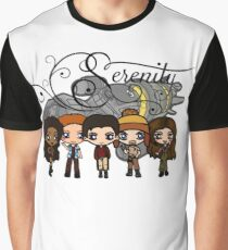 Firefly - Serenity and Crew Graphic T-Shirt