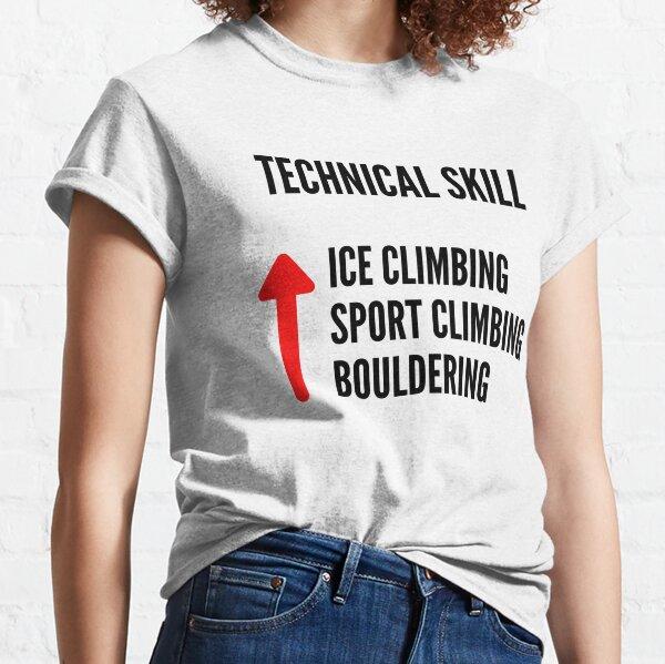 Ice Climbing Technical Skill Classic T-Shirt