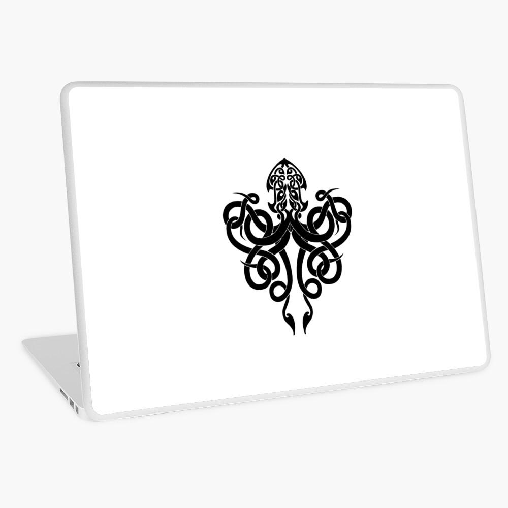 Kraken Logo Laptop Skin