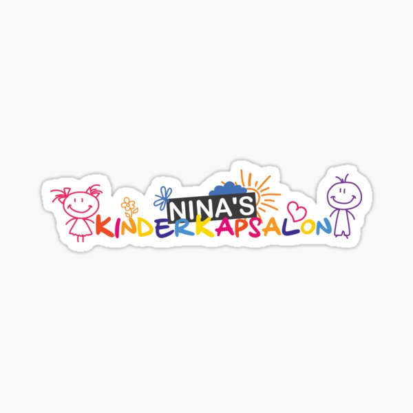 Nina Kids Hairdresser Sticker
