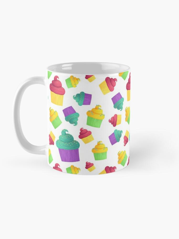 Alternate view of Colorful Cupcakes Mug