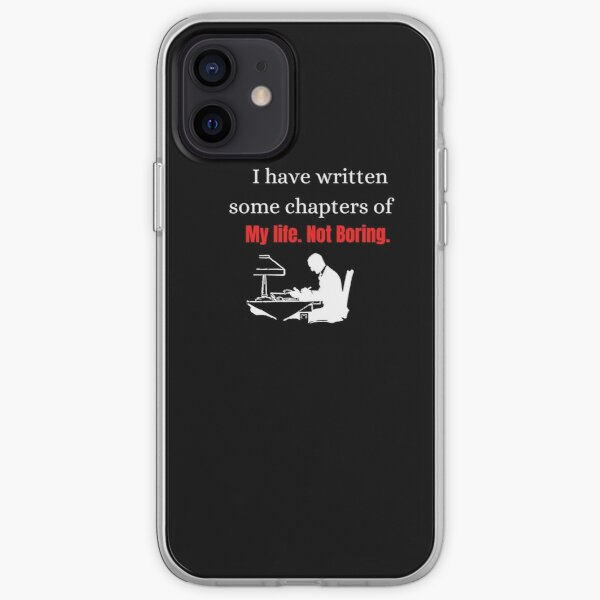 I have written some chapters of my life iPhone Soft Case