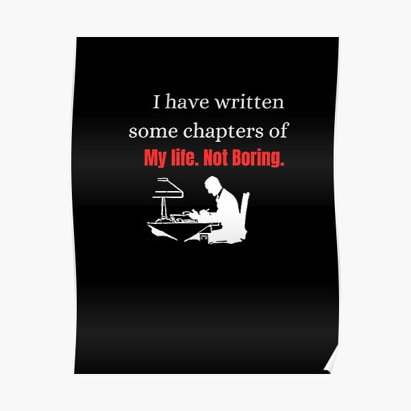 I have written some chapters of my life Poster