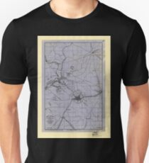 Civil War Maps 0059 Atlanta vicinity compiled from state map and information Unisex T-Shirt