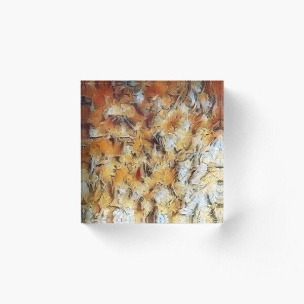 Shades of softness Acrylic Block