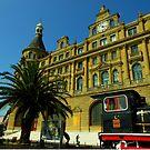 Haydarpasa Train Station, Istanbul, Turkey by Zoe Marlowe