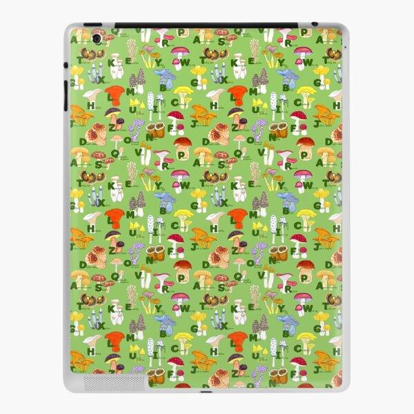 Mushroom ABCs iPad Skin