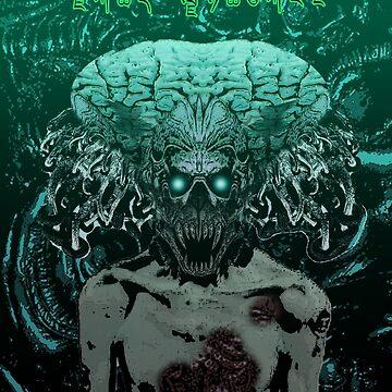 Demonic Alien Entity by AlexanderFox