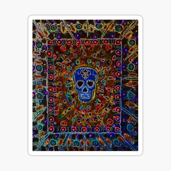 Skull Art Sticker