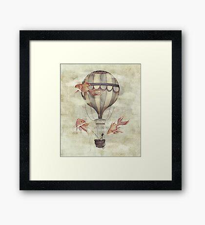 Skyfisher Framed Print