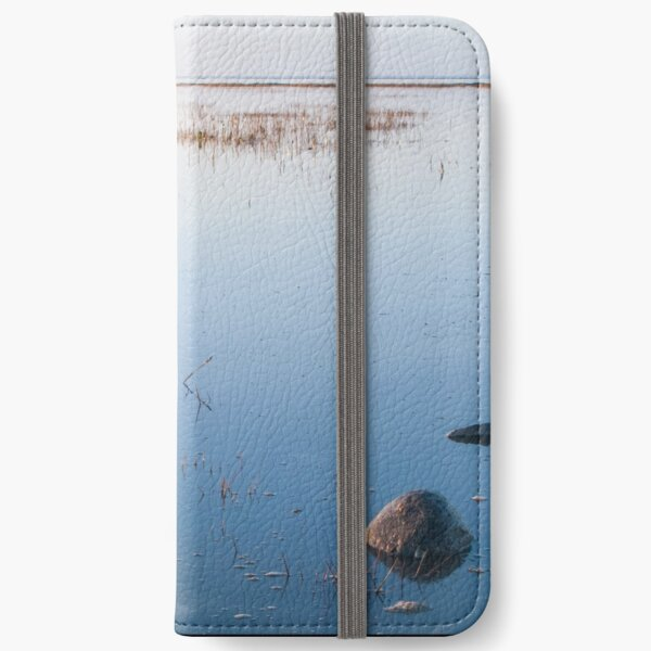 Shallow waters and no wind on a quiet day iPhone Wallet