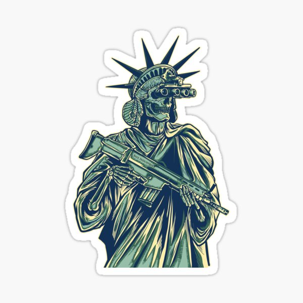 Give Me Liberty or Give Me Death Sticker