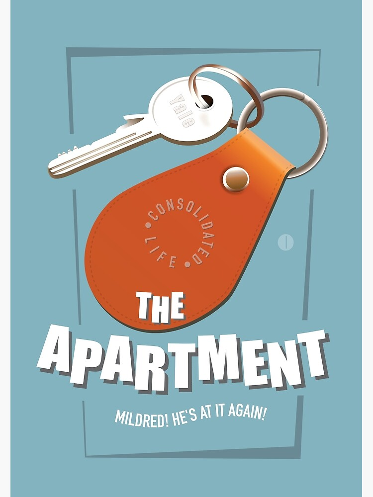 The Apartment - Alternative Movie Poster by MoviePosterBoy
