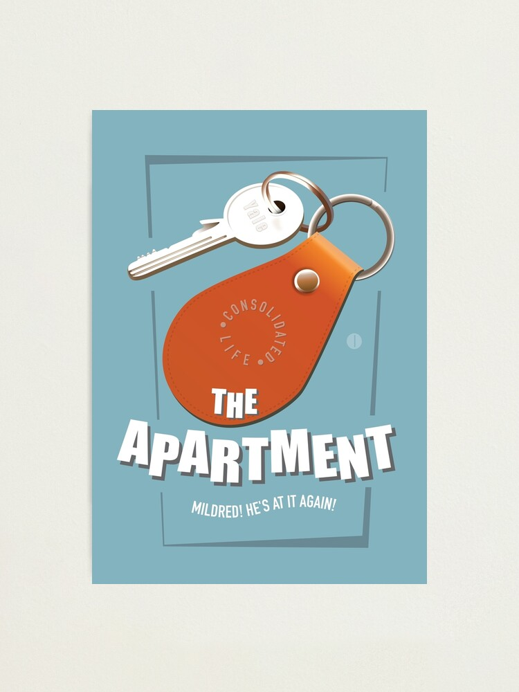 Alternate view of The Apartment - Alternative Movie Poster Photographic Print