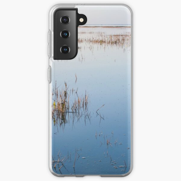 Shallow waters and no wind on a quiet day Samsung Galaxy Soft Case