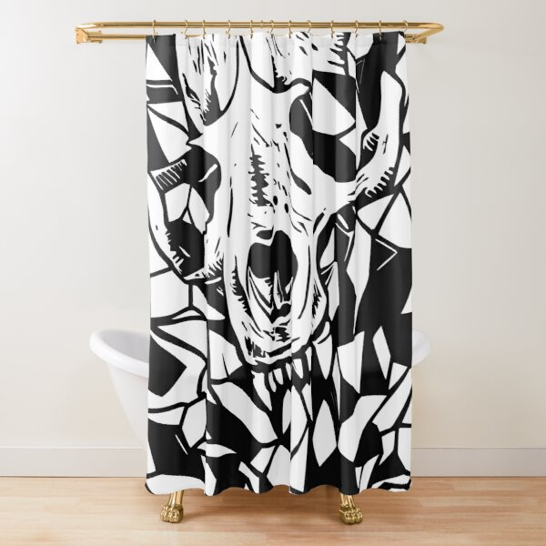 Remember You Must Die 2.0 Shower Curtain