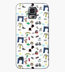Triathlon Doodles Case/Skin for Samsung Galaxy