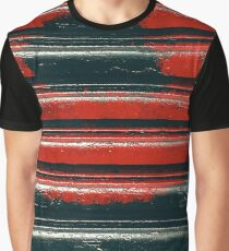 Black & Red Graphic T-Shirt