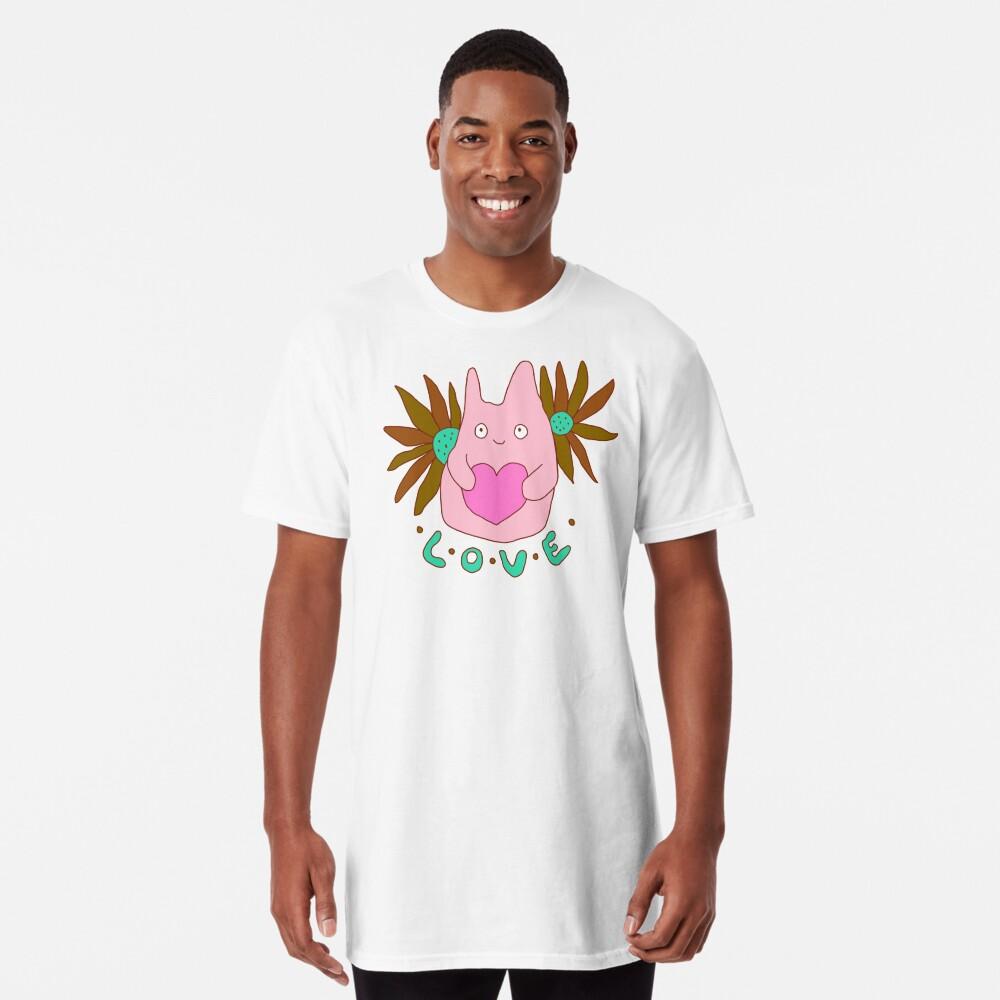 Amor, Espíritu del Bosque, Lindo, Flores Camiseta larga
