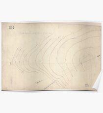Civil War Maps 0490 Hill between hill no 1 Fort Meigs Washington DC Poster